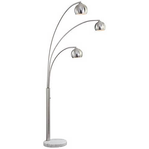 Crosstown 3-Light Arc Floor Lamp
