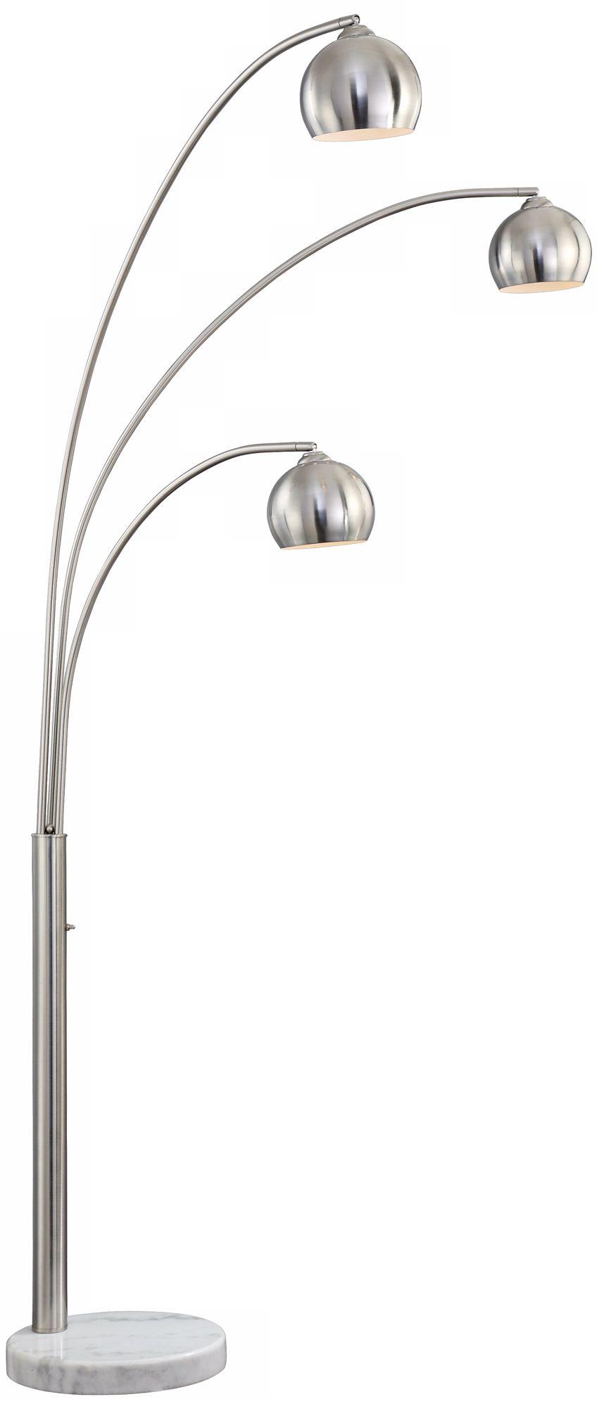 crosstown 3light arc floor lamp