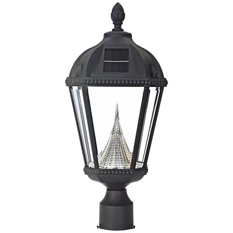 "Royal Solar LED Black 20 1/2"" High Outdoor Post Light"