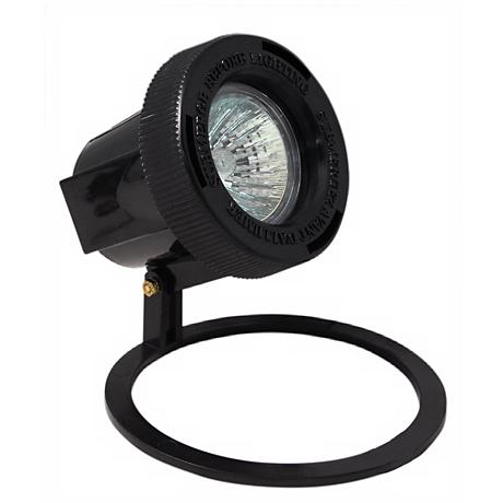 Black Finish Submersible Outdoor Well Light