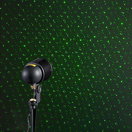 BlissLights Spright Green Laser Starfield Landscape Light