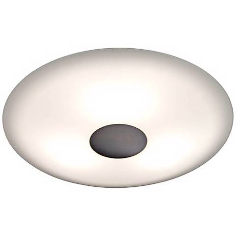 "Holtkoetter Opalika 12 1/2"" Wide Old Bronze Ceiling Light"