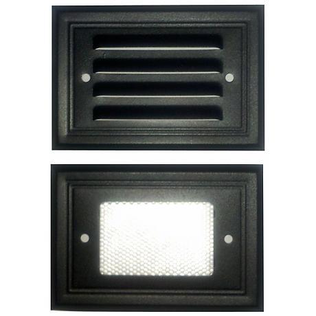 Black Finish 7-Watt Outdoor Deck Light
