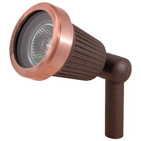 Rust Copper Finish 20 Watt Outdoor Spot Light