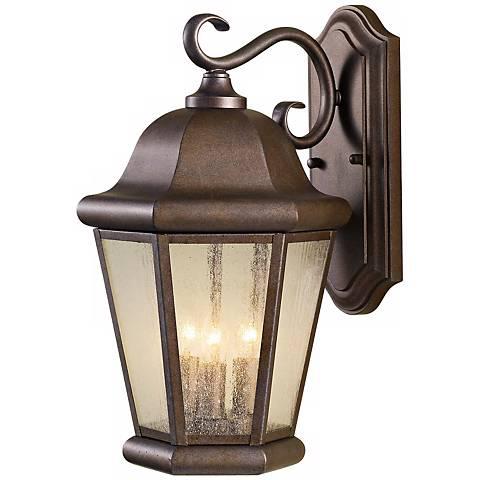 """Feiss Martinsville 17"""" High Outdoor Wall Lantern"""