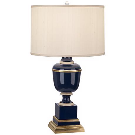 Mary McDonald Annika Cobalt Cloud Cream Shade Table Lamp