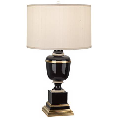Mary McDonald Annika Black Cloud Cream Shade Table Lamp