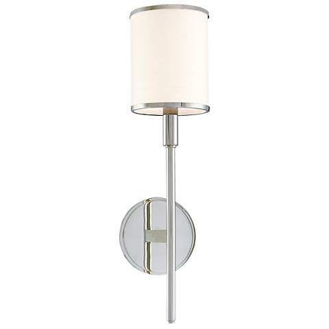 the aberdeen wall sconce brings a polished transitional look to your. Black Bedroom Furniture Sets. Home Design Ideas