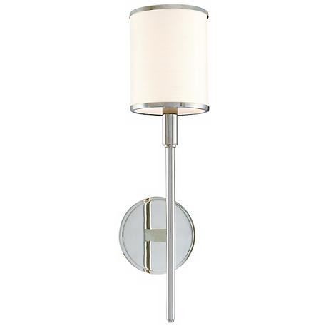 Hudson Valley Aberdeen Polished Nickel Wall Sconce