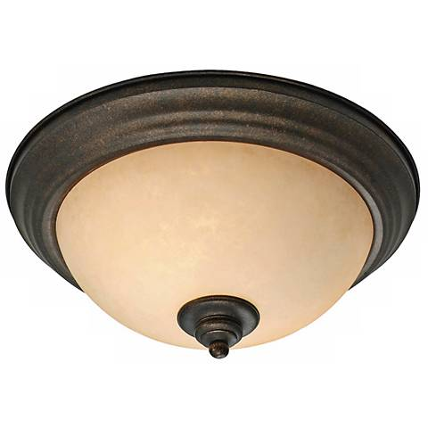 "Heartwood Collection 13 1/4"" Wide Ceiling Light Fixture"