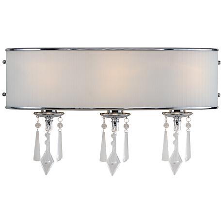 echelon 22 wide 3 light chrome bath light r3355 lamps plus. Black Bedroom Furniture Sets. Home Design Ideas