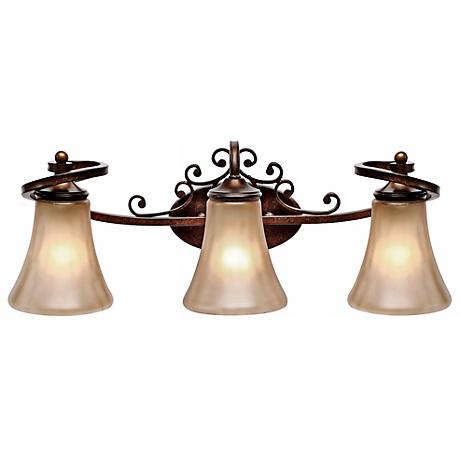 "Loretto Collection 24 1/2"" Wide Bathroom Wall Light"