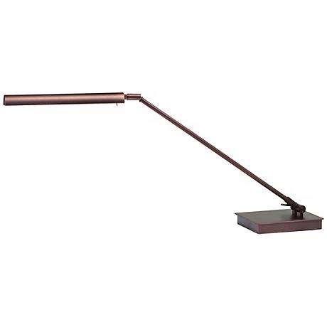 """House of Troy Generation 22"""" High Bronze LED Piano Lamp"""
