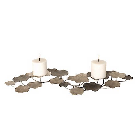 Uttermost Lying Lotus 2-Candle Holder