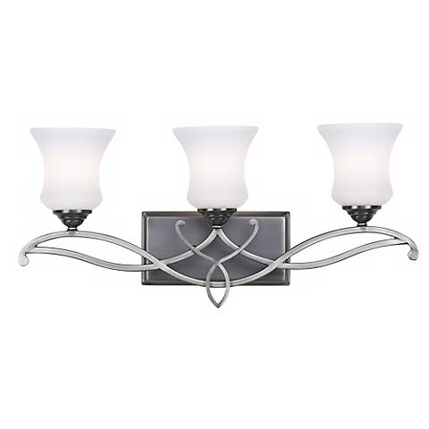 "Hinkley Brooke Collection 24"" Wide Bathroom Wall Light"