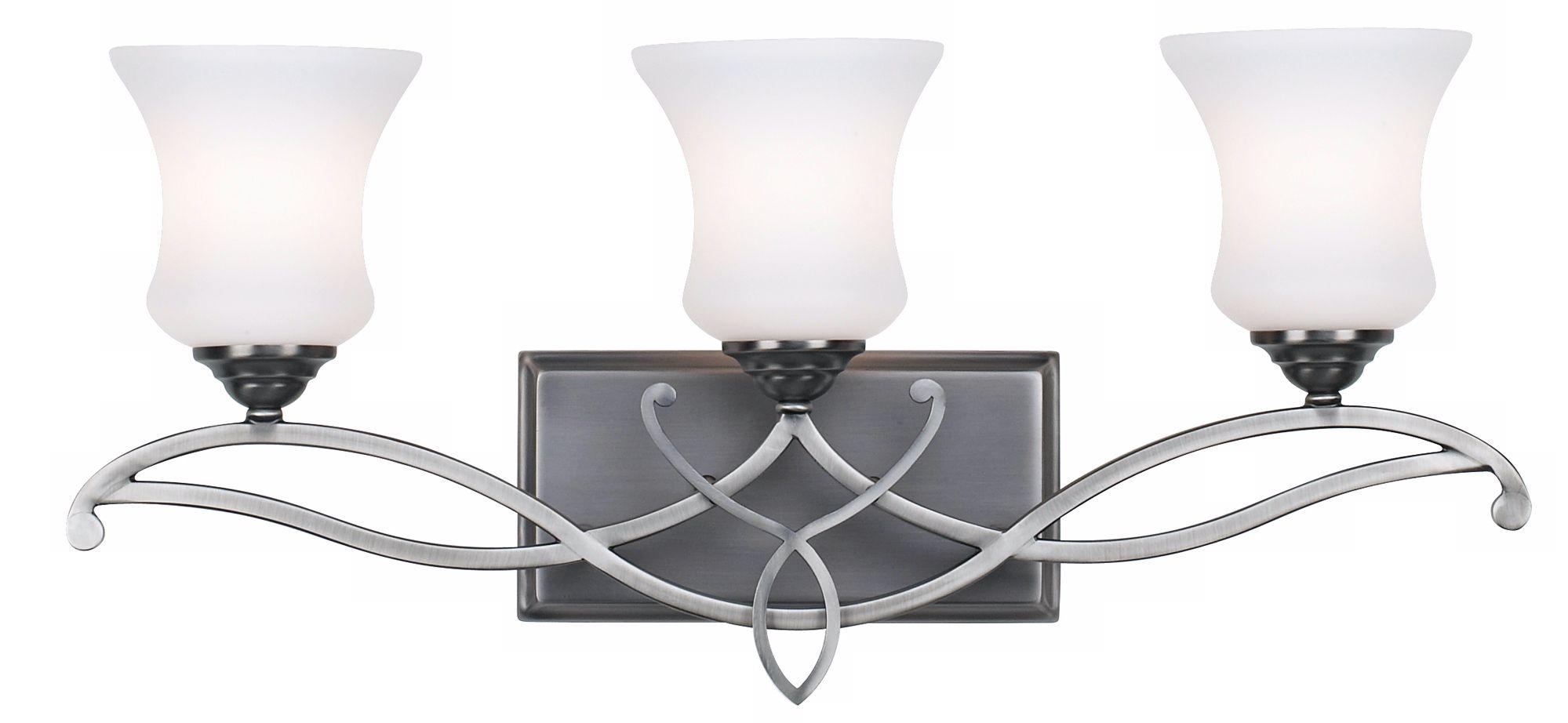 Hinkley Brooke Collection 24  Wide Bathroom Wall Light  sc 1 st  L&s Plus & Hinkley Bathroom Lighting   Lamps Plus azcodes.com