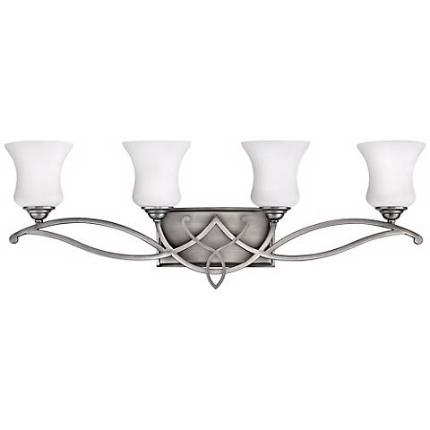 "Hinkley Brooke Collection 31 1/4"" Wide Bathroom Wall Light"