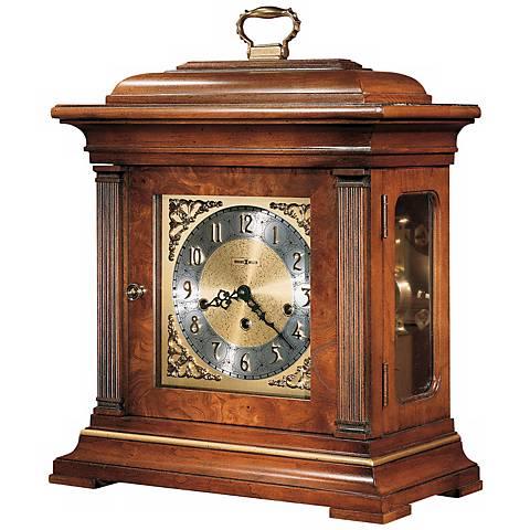 "Howard Miller Thomas Tompion 18 1/4"" High Tabletop Clock"