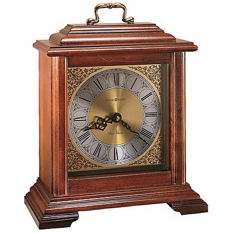 """Howard Miller Medford 11 1/2"""" High Tabletop Clock"""