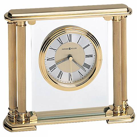 "Howard Miller Athens 7 3/4"" WideTabletop Clock"