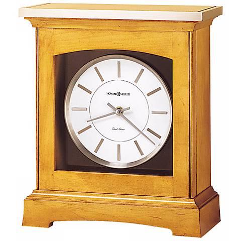 "Howard Miller Urban Mantel 12 1/2"" High Tabletop Clock"