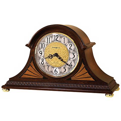 "Howard Miller Grant 18"" Wide Tabletop Clock"
