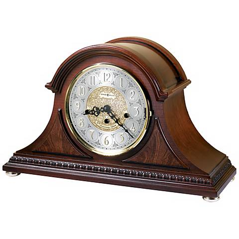 "Howard Miller Barrett 17 1/2"" Wide Tabletop Clock"