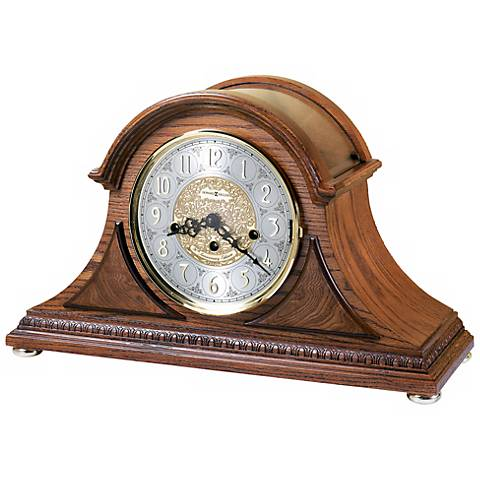 "Howard Miller Barrett II 17 1/2"" Wide Tabletop Clock"
