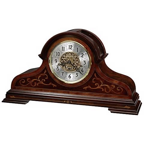 """Howard Miller Bradley 22 3/4"""" Wide Tabletop Clock"""