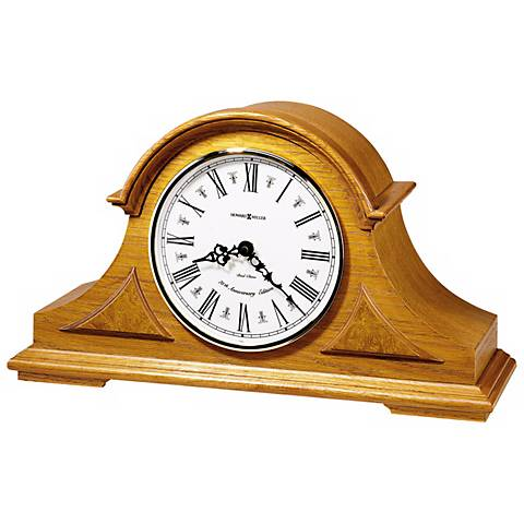 "Howard Miller Burton 17"" Wide Tabletop Clock"