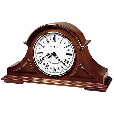 """Howard Miller Burton II 17"""" Wide Tabletop Clock"""