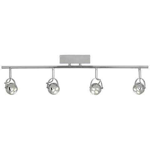 Pro Track® Loida Chrome 4-LED Adjustable Ceiling Fixture