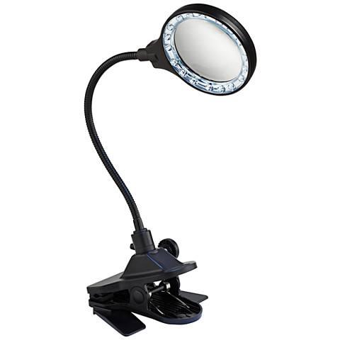 Led Magnifier Gooseneck Clip Light R3986 Lamps Plus