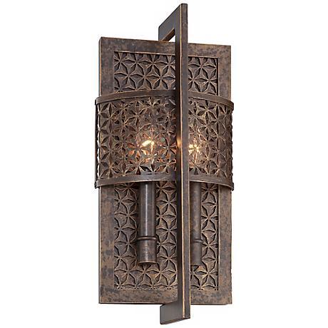 ajourer collection 15 1 2 high wall sconce r4271 lamps plus. Black Bedroom Furniture Sets. Home Design Ideas