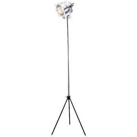 In Studio Adjustable Steel Floor Lamp