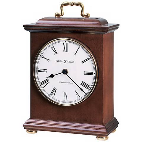 "Howard Miller Tara 10"" High Tabletop Clock"