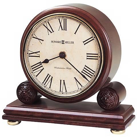 """Howard Miller Redford 7 1/2"""" Wide Tabletop Clock"""