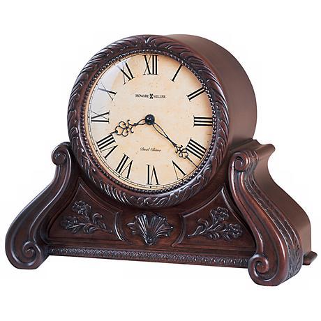"Howard Miller Cynthia 15 3/4"" Wide Tabletop Clock"