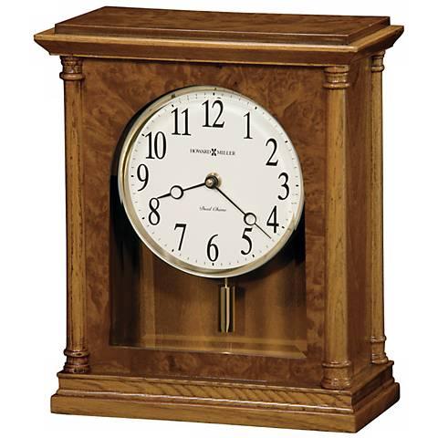 "Howard Miller Carly 11 1/2"" High Tabletop Clock"