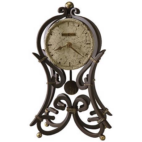 """Howard Miller Vercelli 12"""" High Mantel Clock"""