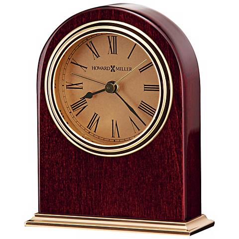 "Howard Miller Parnell 4 3/4"" High Table Alarm Clock"