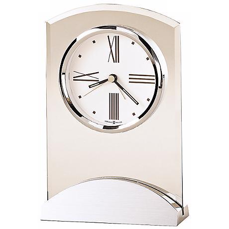 "Howard Miller Tribeca 6 1/2"" High Desk Alarm Clock"