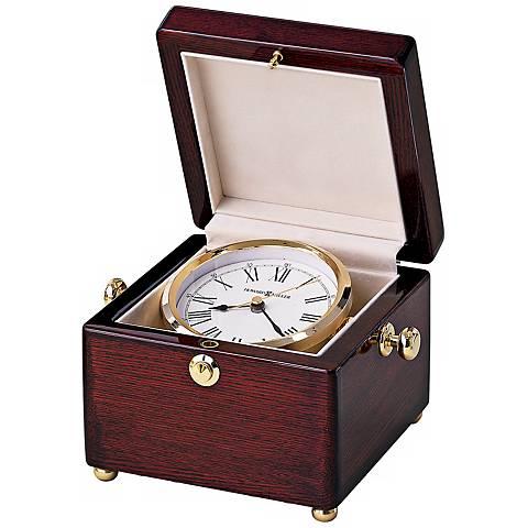 "Howard Miller Bailey 6 1/2"" Wide Table Clock"