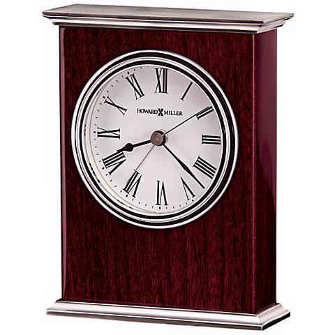"Howard Miller Kentwood 5 1/2"" High Alarm Clock"