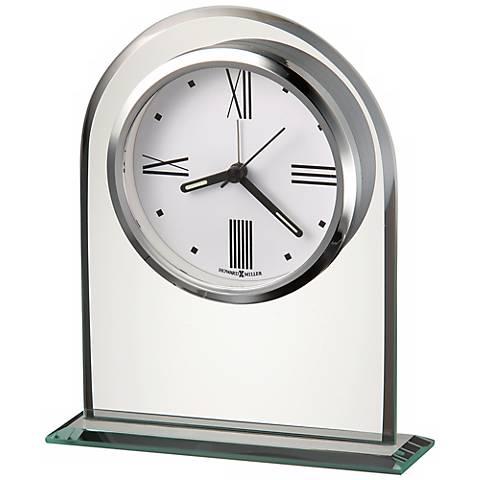 """Howard Miller Regent 6 1/4"""" High Alarm Clock"""