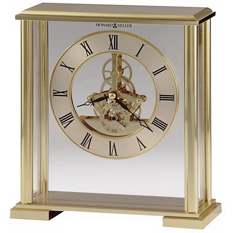 "Howard Miller Fairview 8"" High Tabletop Clock"