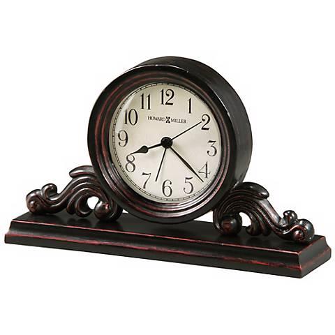 "Howard Miller Bishop 9"" Wide Alarm Clock"