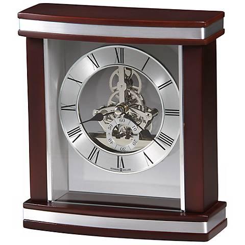 "Howard Miller Templeton 7 1/2"" High Carriage Clock"