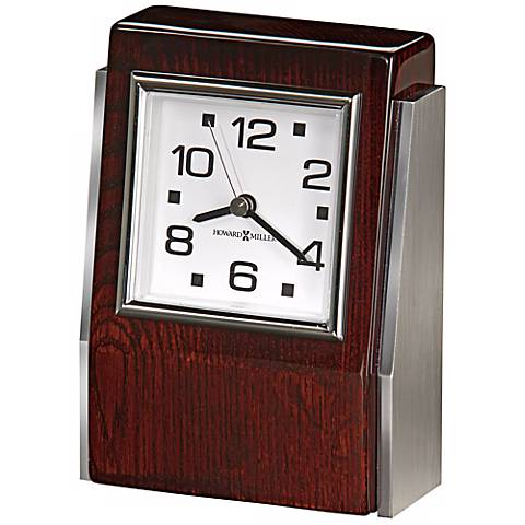 "Howard Miller Haddington 5 3/4"" High Tabletop Clock"
