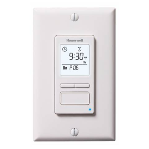 econoswitch 1800w 7 day programmable timer wall switch r5563 lamps plus. Black Bedroom Furniture Sets. Home Design Ideas